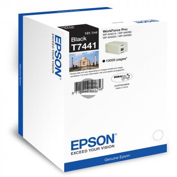 Epson Tinte schwarz HC plus + (C13T74414010, T7441)