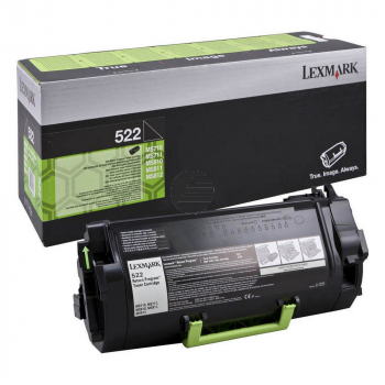 Lexmark Toner-Kit Return Program schwarz (52D2000, 522)