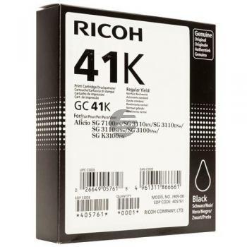 Ricoh Gel-Kartuschen schwarz HC (405761, GC-41K)