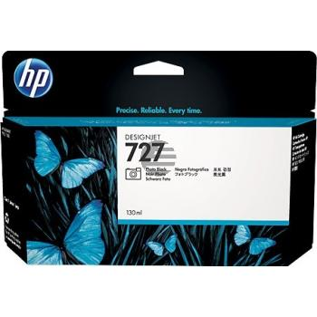 HP Tintenpatrone photo schwarz HC (B3P23A, 727)