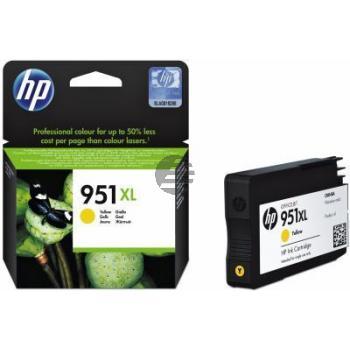 HP Tinte gelb HC (CN048AE#301, 951XL)