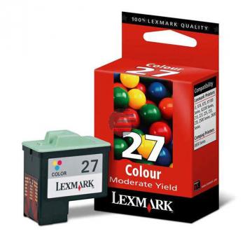 Lexmark Tintendruckkopf farbig (10NX227B, 27HC)