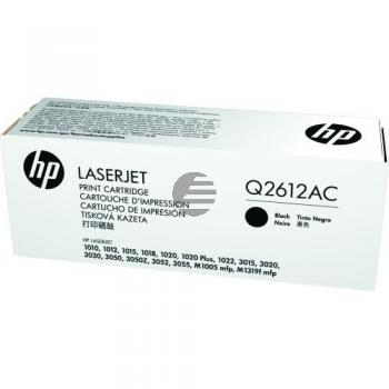 HP Toner-Kartusche Contract schwarz (Q2612AC, 12AC)