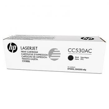 HP Toner-Kartusche Contract schwarz (CC530AC, 304AC)