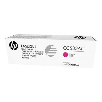 HP Toner-Kartusche Contract magenta (CC533AC, 304AC)