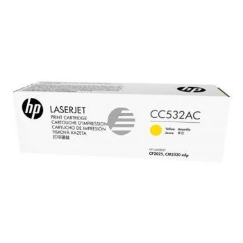 HP Toner-Kartusche Contract gelb (CC532AC, 304AC)