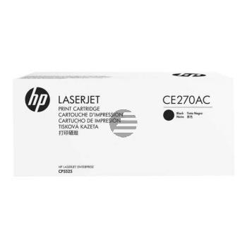 HP Toner-Kartusche Contract schwarz (CE270AC, 650AC)