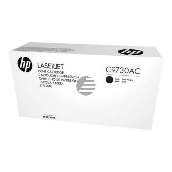 HP Toner-Cartouche Contract zwart (C9730AC, 654AC)
