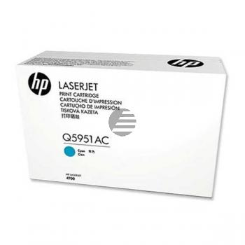 HP Toner-Kartusche Contract cyan (Q5951AC, 643AC)