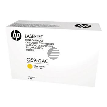 HP Toner-Kartusche Contract gelb (Q5952AC, 643AC)