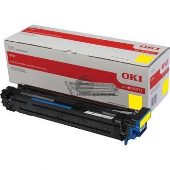 OKI Fotoleitertrommel gelb (45103713)