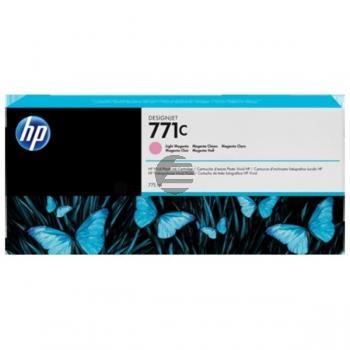 HP Tintenpatrone magenta light (B6Y11A, 771C)