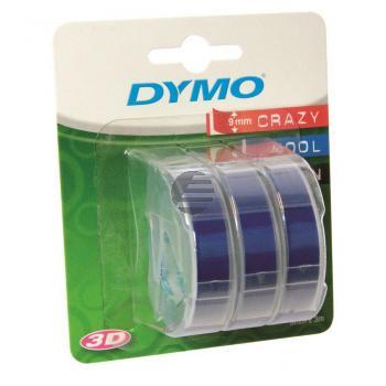 Dymo Prägeband 3 x blau (S0847740)