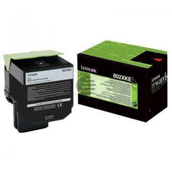 Lexmark Toner-Kit Corporate schwarz HC plus + (80C2XKE)