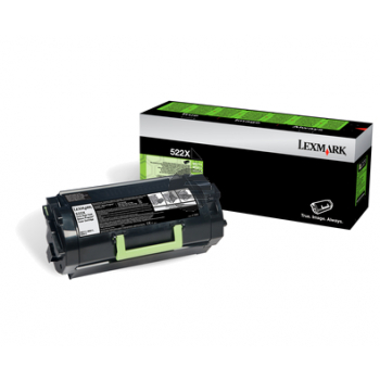 Lexmark Toner-Kit Corporate schwarz HC (52D0XA0, 522X)