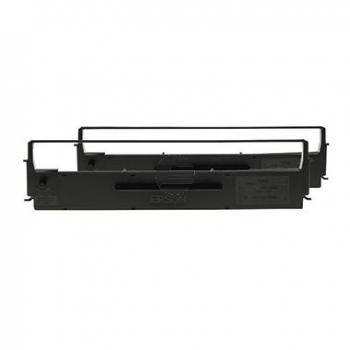 Epson Farbband Nylon 2x schwarz 2-er Pack (C13S015614)