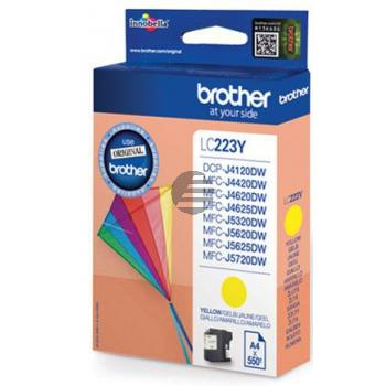 Brother Tinte gelb (LC-223Y)