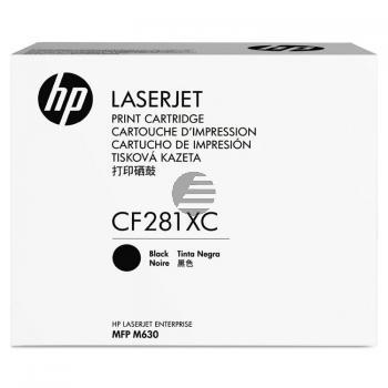 HP Toner-Kartusche Contract schwarz (CF281XC, 81XC)