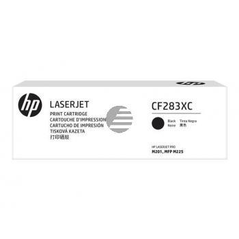 HP Toner-Kartusche Contract schwarz HC (CF283XC, 83XC)