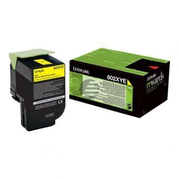 Lexmark Toner-Kit Corporate gelb (80C2XYE)