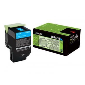 Lexmark Toner-Kit Corporate cyan (80C2XCE)