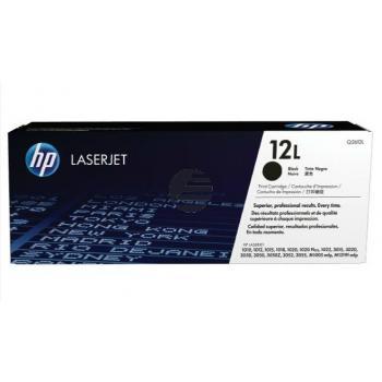 HP Toner-Kartusche Economy schwarz (Q2612L, 12L)