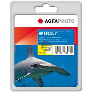 Agfaphoto Tintenpatrone gelb HC (APHP951YXL)
