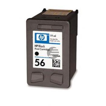 HP Tintendruckkopf schwarz HC (C6656AE#UUS, 56)