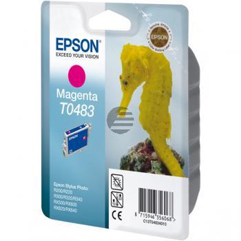 Epson Tintenpatrone magenta (C13T04834020, T0483)