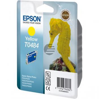 Epson Tintenpatrone gelb (C13T04844020, T0484)