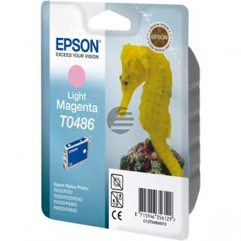 Epson Tintenpatrone magenta light (C13T04864020, T0486)