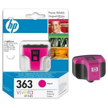 HP Tinte Magenta (C8772EE#BA1, 363)