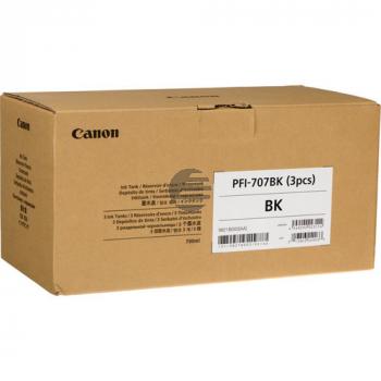 Canon Tintenpatrone schwarz HC (9821B001, PFI-707BK)