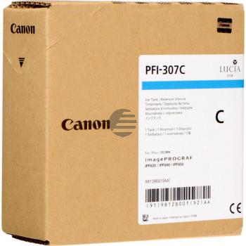 Canon Tintenpatrone cyan (9812B001, PFI-307C)