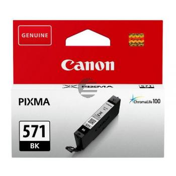 Canon Tinte schwarz (0385C001, CLI-571BK)