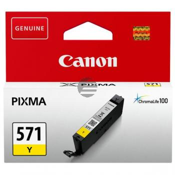 Canon Tinte gelb (0388C001, CLI-571Y)