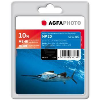 Agfaphoto Tintendruckkopf schwarz HC (APHP20B)