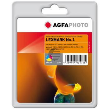 Agfaphoto Tintendruckkopf cyan/gelb/magenta HC (APL1C)