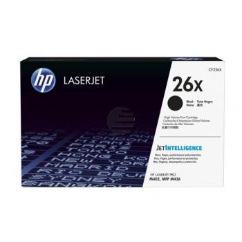 HP Toner-Kartusche JetIntelligence schwarz HC (CF226X, 26X)