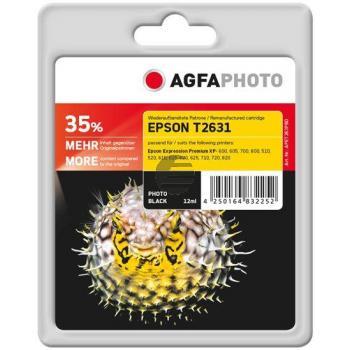 Agfaphoto Tinte Photo-Tinte Photo schwarz HC (APET263PBD)