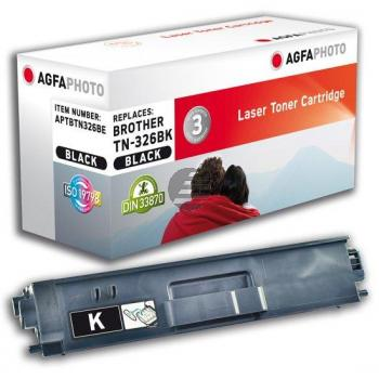 Agfaphoto Toner-Kartusche schwarz HC (APTBTN326BE) ersetzt TN-326BK