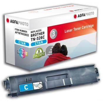 Agfaphoto Toner-Kartusche cyan HC (APTBTN326CE) ersetzt TN-326C
