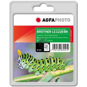 Agfaphoto Tintenpatrone schwarz (APB1220BD) ersetzt LC-1220BK