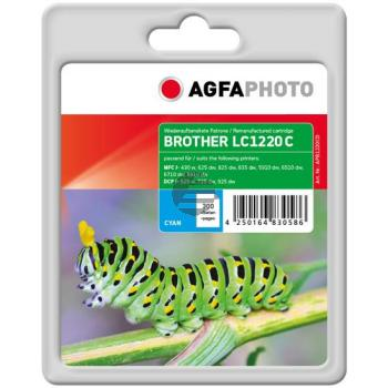 Agfaphoto Tintenpatrone cyan (APB1220CD) ersetzt LC-1220C