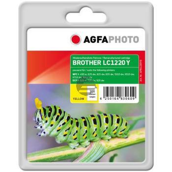 Agfaphoto Tintenpatrone gelb (APB1220YD) ersetzt LC-1220Y