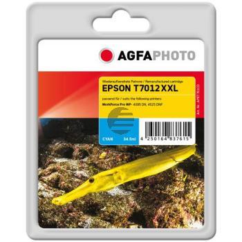 Agfaphoto Tintenpatrone cyan HC plus (APET701CD)