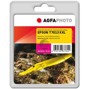 Agfaphoto Tintenpatrone magenta HC plus (APET701MD)