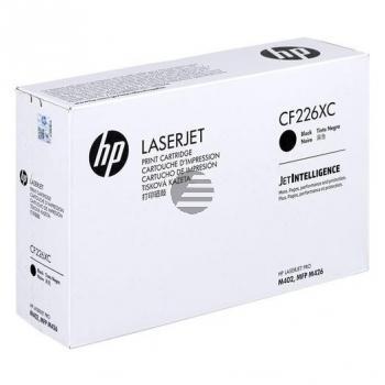 HP Toner-Kartusche Contract JetIntelligence schwarz HC (CF226XC, 26X)