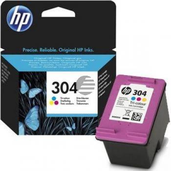 HP Tintendruckkopf cyan/gelb/magenta (N9K05AE, 304)