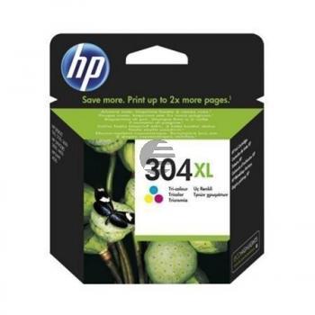 HP Tintendruckkopf cyan/gelb/magenta HC (N9K07A, 304XL)